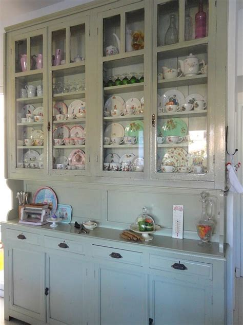 kitchen cabinet display a mix of new and vintage silvina s kitchen in argentina