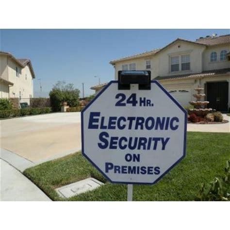 Solar Yard Sign Light Solar Led Sign Light Security Alarm Yard Sign