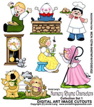 nursery rhyme clip rhyme cliparts