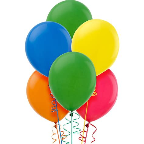city balloon colors assorted color balloons 15ct city