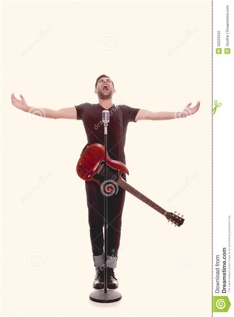 who is the singer playing guitar in the direct tv commercial may 2016 male singer with guitar stock photo image of portrait