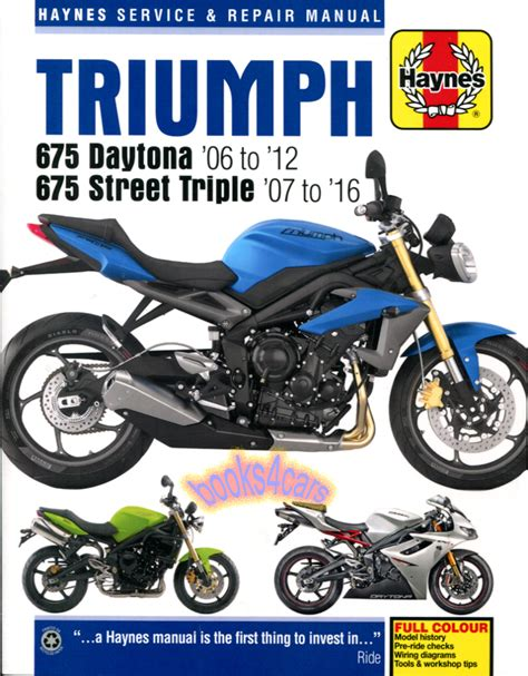 Triumph Manuals At Books4cars Com