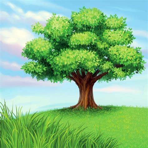 a tree vector free vector in encapsulated postscript eps