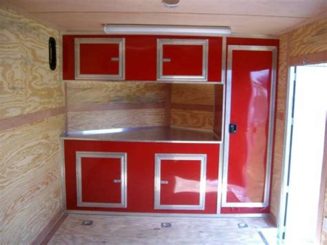 how to make aluminum cabinets how to build trailer cabinets bar cabinet