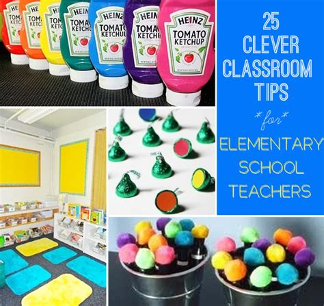 classroom ideas 25 clever classroom tips for elementary school teachers