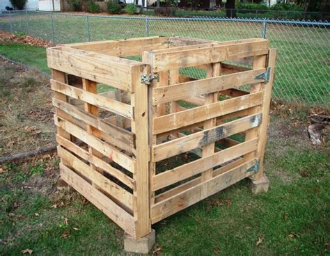 From Wooden Pallets by How To Build A Compost Bin Out Of Wooden Pallets Pallet