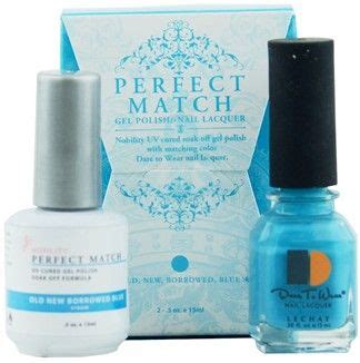 perfect match colors lechat perfect match nail polish 51 old new borrowed