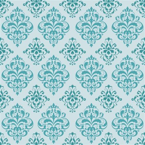 pattern elegance vector download turquoise elegant pattern vector free download