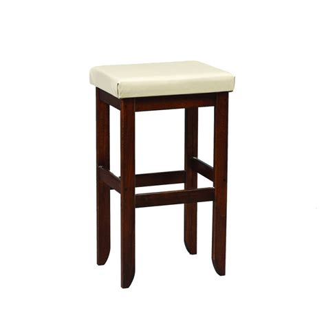 Stools With Cushion by Bar Stool With Cushion Amish Crafted Furniture