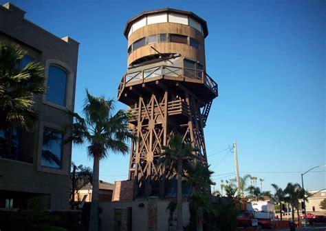 surfside water tower seal beach ca california beaches