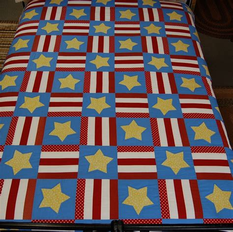 Usa Quilt by Stripes Quilt Blackmountainquilts Net
