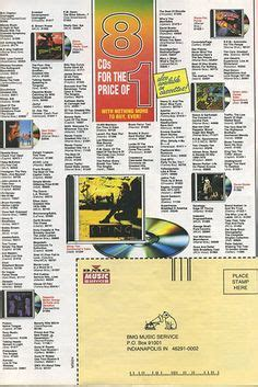 columbia house music cds ah i remember when music television actually had music on it shit that makes me old