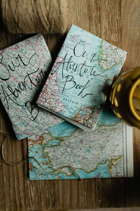adventure journal handmade coptic stitch maps national