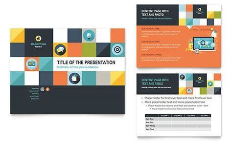 Illustrator Templates Brochures Flyers Stocklayouts Adobe Illustrator Presentation Templates