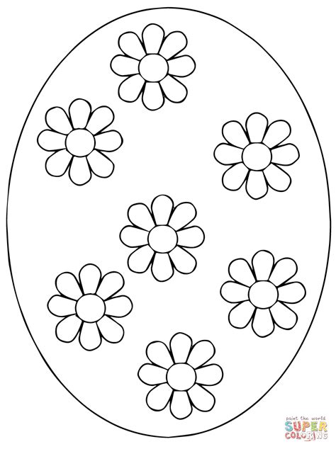 pysanky egg coloring page ukrainian easter egg coloring page free printable