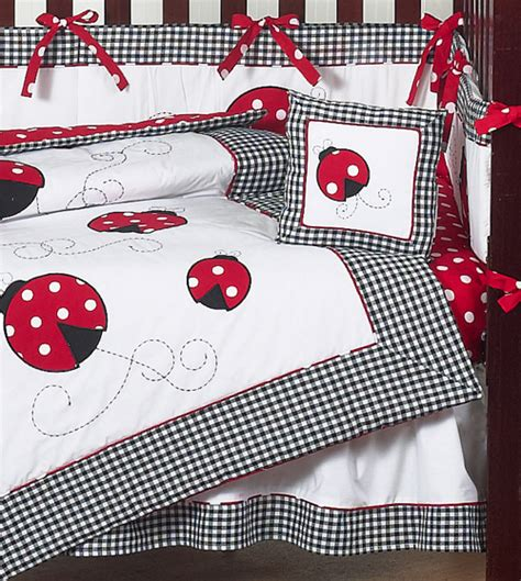 ladybug bedding crib set ladybug creative ideas of baby cribs