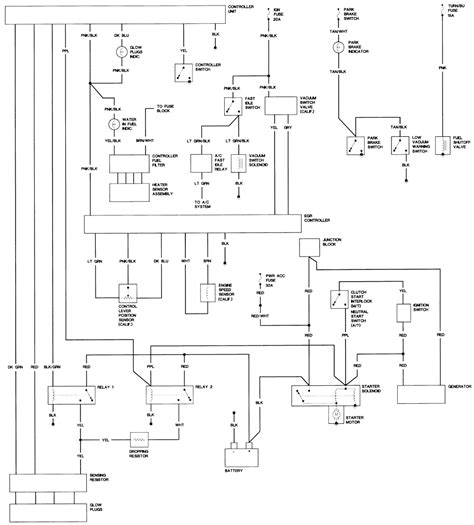 85 chevy truck engine wiring diagram get free image