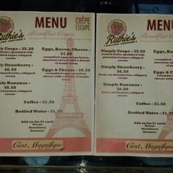 The Rolling Kitchen Food Truck Menu by Ruthies Rolling Cafe Food Trucks Tx