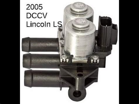 lincoln ls dccv dual climate control  heater control