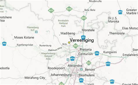 map of vereeniging vereeniging weather station record historical weather