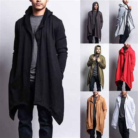 Sweater Jaket Ballin Hoodie s length drape cape cardigan hoodie sweater jk701 j7a ebay