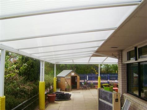 Wall Mounted Awnings Canopies Coupals County Primary School Haverhill Wall Mounted