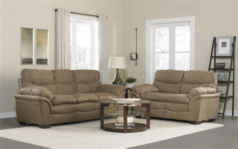 mocha microfiber sofa 1036 sofa in mocha microfiber w options