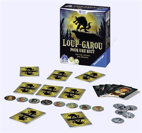 Asmodee Le Loup Garou Une Nuit loup garou pour une nuit jeu de soci 233 t 233 chez jeux de nim