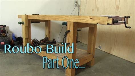 build  roubo workbench   budget part  milling
