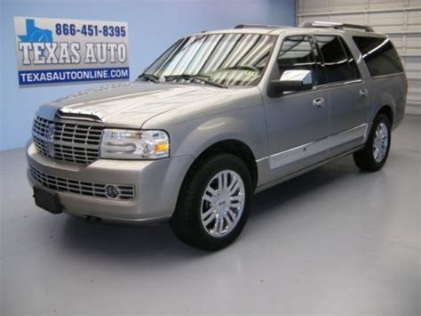 how cars run 2008 lincoln navigator l navigation system sell used we finance 2008 lincoln navigator l lwb roof