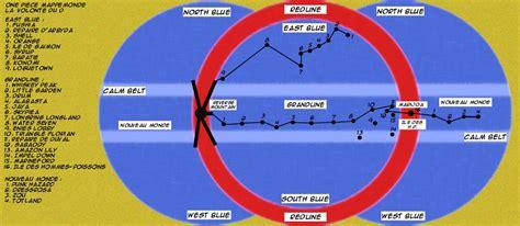 one guide des la carte de east blue et