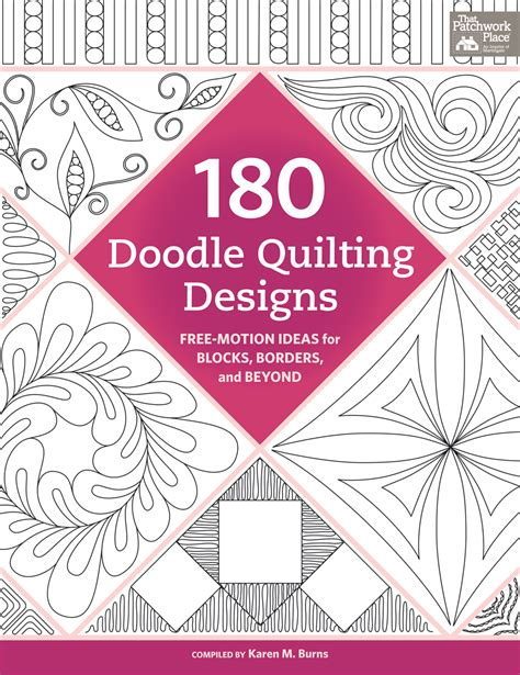 doodle quilting trace doodle free motion quilt 180 doodle patterns to
