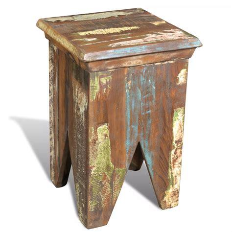 stuhl garderobe teakholz antik stuhl hocker garderobe vintage ablage