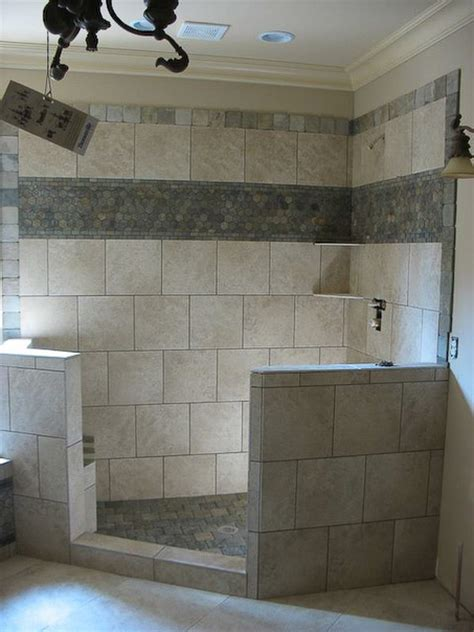 bathroom tile border ideas bathroom shower tile idea top and middle borders