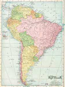 mexico and south america map maps south america mexico