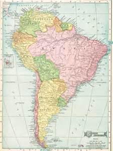 maps south america mexico