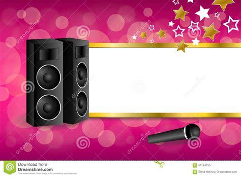 imagenes graciosas karaoke tło abstrakta menchii karaoke mikrofonu głośnika gwiazdy