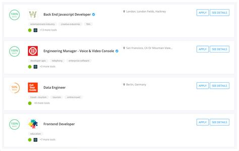python match search match search find coding jobs that match your tech stack with this site