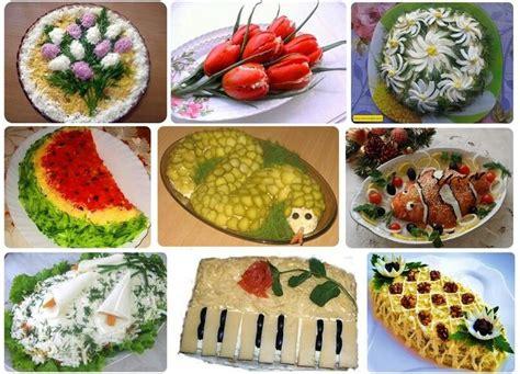 decoration salads and ideas on