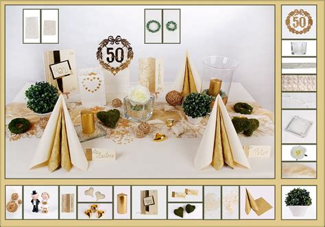 Goldene Hochzeit Dekoration by Dekoration Zur Goldenen Hochzeit Nxsone45