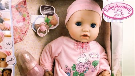 annabelle doll unboxing new baby annabell doll unboxing and play