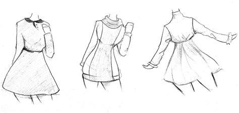 menggambar baju cewek musim dingin mayagami