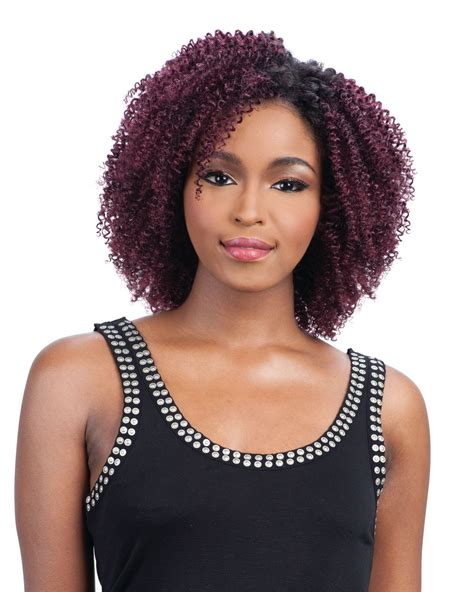 Black Hairstyles With Weave By Way by Milkyway Que Mastermix Shortcut Series Weave Q Twirl Curl