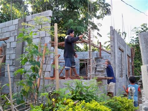 build a house building a concrete block house part 2 philippines
