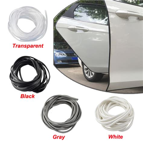 Universal Car Door Edge Guards Trim Molding Protection Transparent Str universal car door edge guard scratch protector