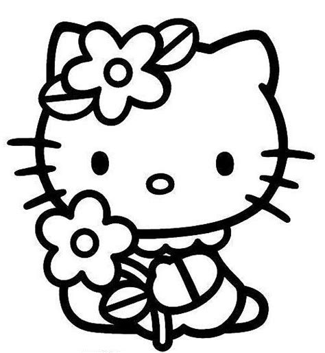 hello kitty cat coloring pages pin by cez london fest on kawai pinterest