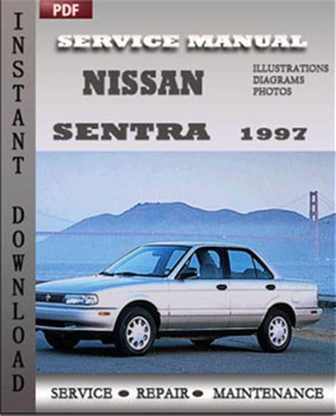 Nissan Sentra 1997 Factory Service Repair Manual Download