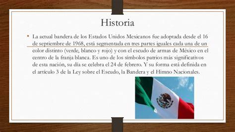 la historia de dracolino la historia de la bandera de m 233 xico