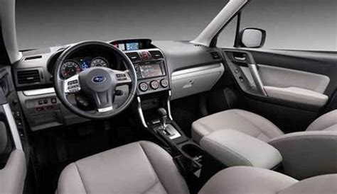 subaru forester 2018 interior 2018 subaru forester specs and price cars review 2018 2019