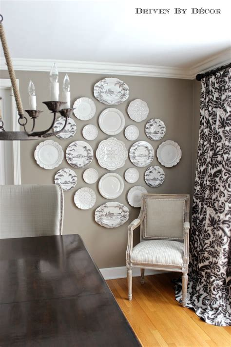decorative plates wall the easy how to for hanging plates on the wall driven
